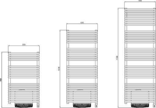 atlantic timelis integral ventilo radiateur s che serviettes atlantic radiateur lectrique. Black Bedroom Furniture Sets. Home Design Ideas
